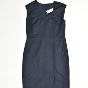Ann Taylor Regular 12 Blue   Empire Dress Polyeste